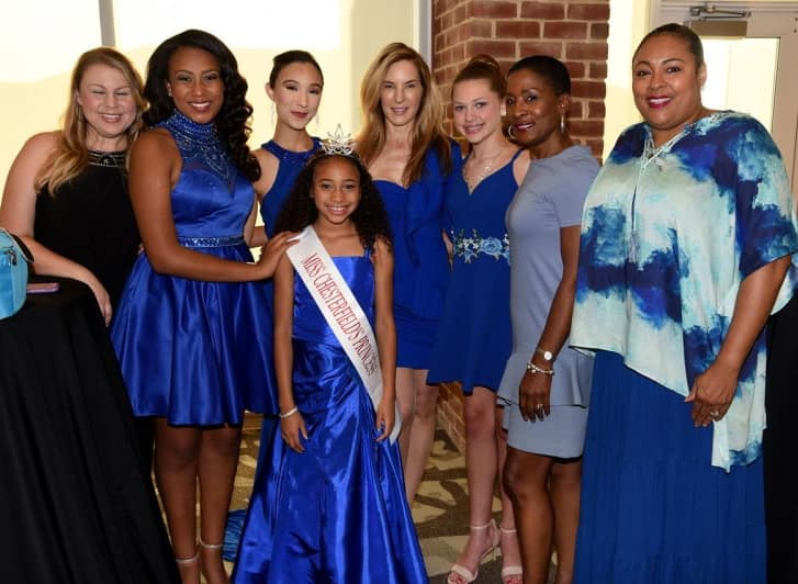 Miss Chesterfield family at reception 20