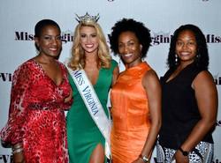 With Miss VA 2016, Michaela Simon