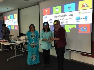 Training with Microsoft Malaysia