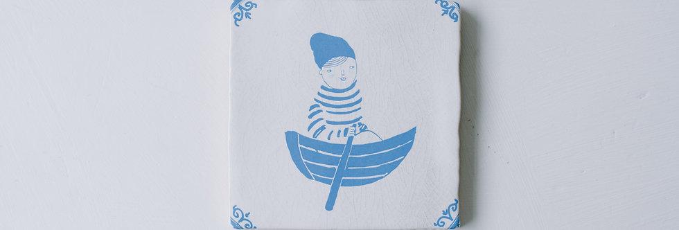 Tile - Row Row Row Your Boat