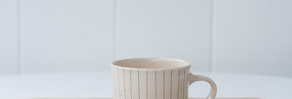 Mug - Dark Grey Stripe