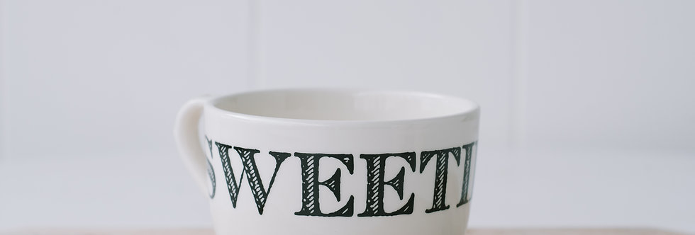 Endearment Cup - Sweetie