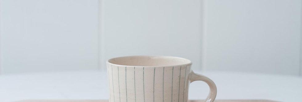 Mug - Dark Blue Stripe