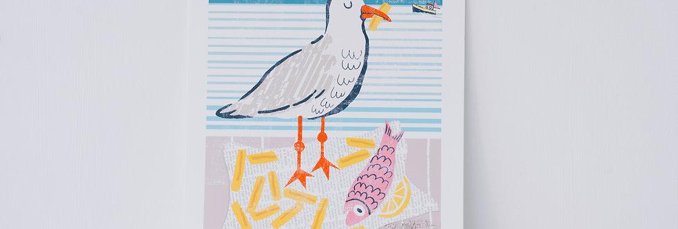 Seaside Print - Chip Bandit