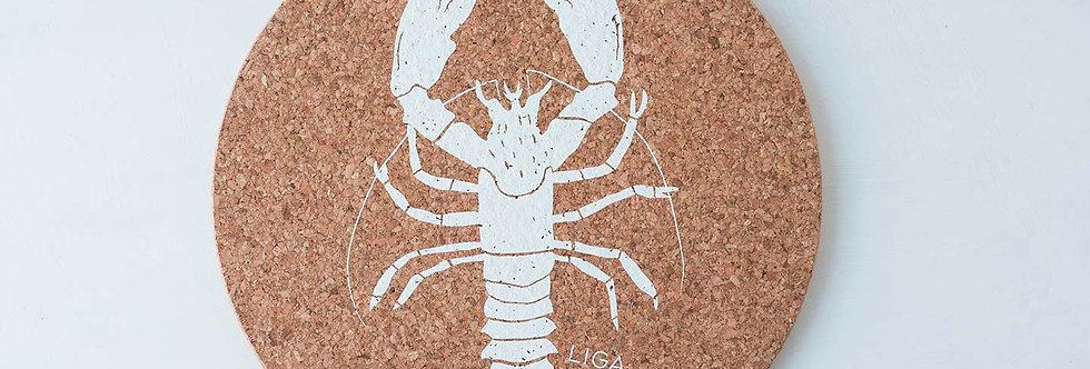Cork Mat - Lobster