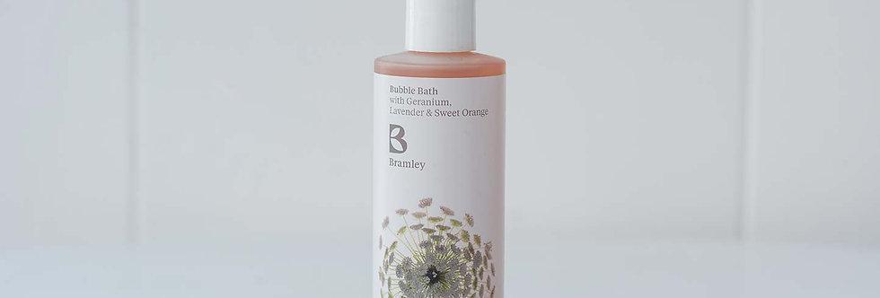 Bubble Bath - Geranium, Lavender and Sweet Orange