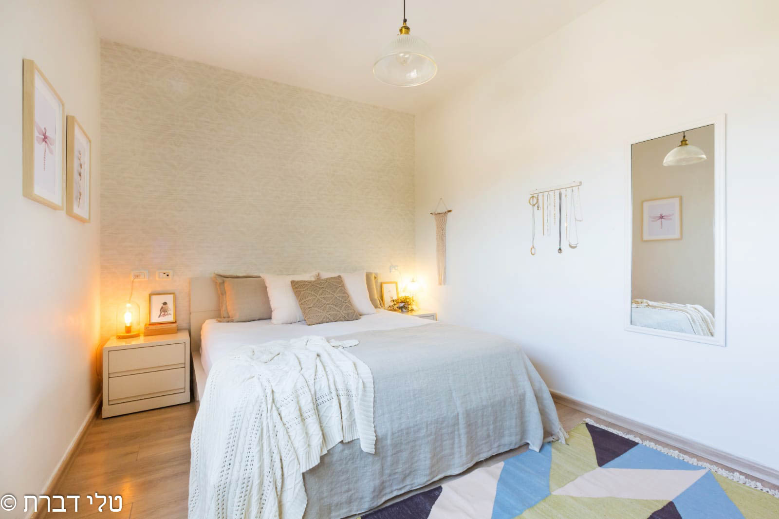סוויטת הורים של דירה חלומית למכירה בצור יצחק