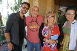 Jack Huston, Producer Colleen Camp,