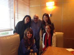With Yang Mi and Paula Abdul