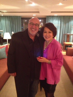With Yue Sai Kan in Shanghai