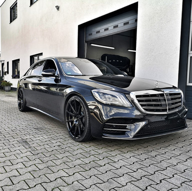 G&B R10 auf Mercedes S Klasse 222