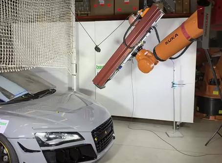 TÜV Test passed - G&B R8  Widebody Umbau