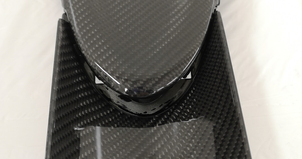 Carbon Mittelkonsole Lamborghini Gallardo