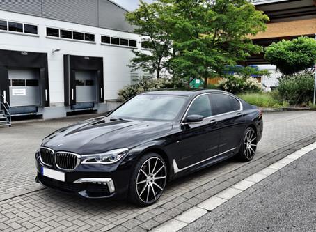 R10 22 Zoll auf dem BMW 7er G11 - Suits perfect