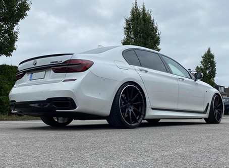 BMW 750D M G11 auf R10 22 Zoll - Extremely nice Look