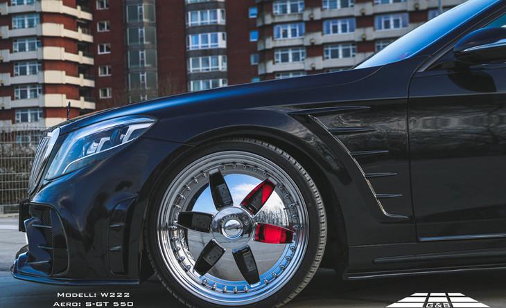 G&B S GT550 Bodykit Mercedes S Klasse W2