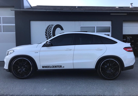 G&B R10 auf Mercedes GLE Coupe C292 Weiß