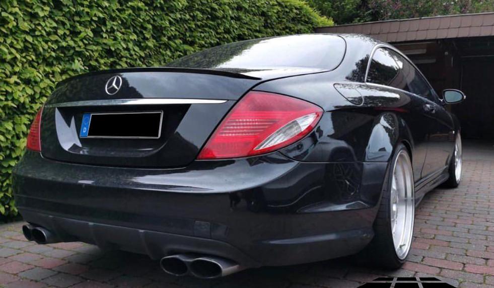 GnB CL63 Bodykit auf Mercedes CL Baureihe W216