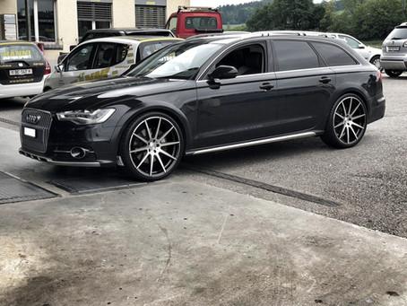 22 Zoll R10 auf dem Audi A6 4G Avant - No Problem