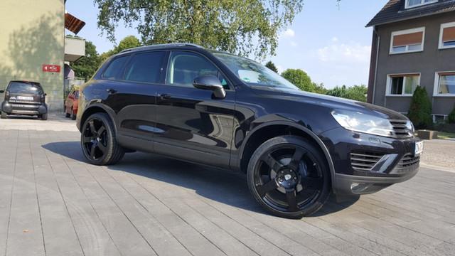 G&B C2 Black auf VW Touareg
