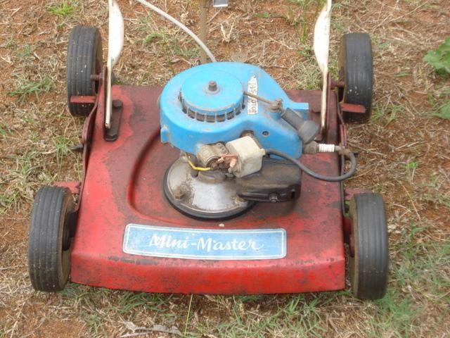 2-stroke power mower