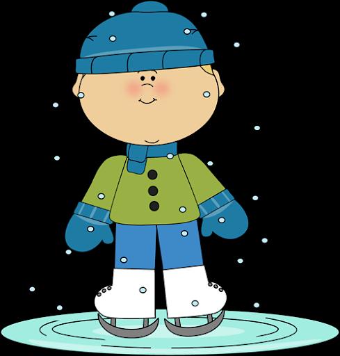 Kid skating