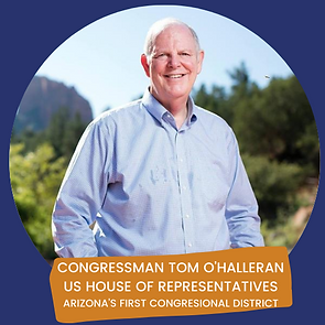 CONGRESSMAN O'HALLERAN ENDORSEMENT LOGO.