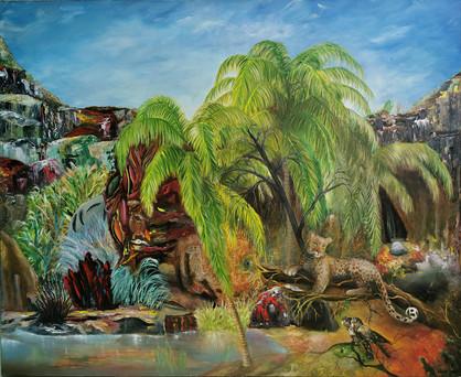 resurrection 3, 90 x 110 cm