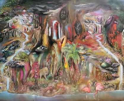 resurrection 2, 90 x 110 cm
