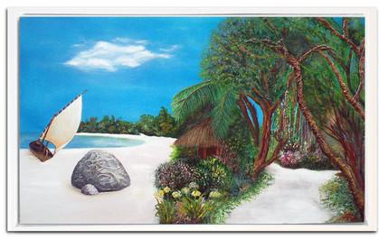 tropical 60 x100 cm
