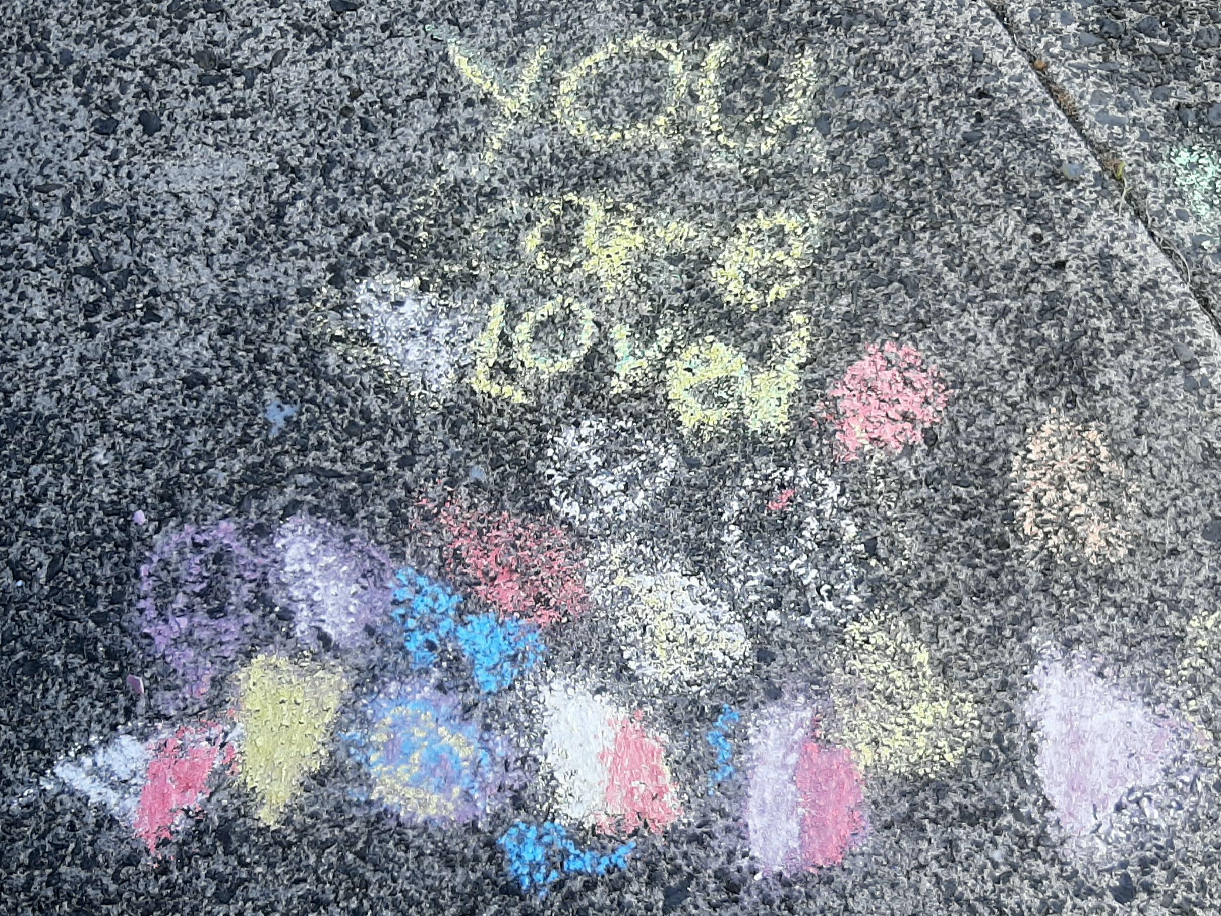 Elise Ohta Gr 4 Chalk the Walk - R