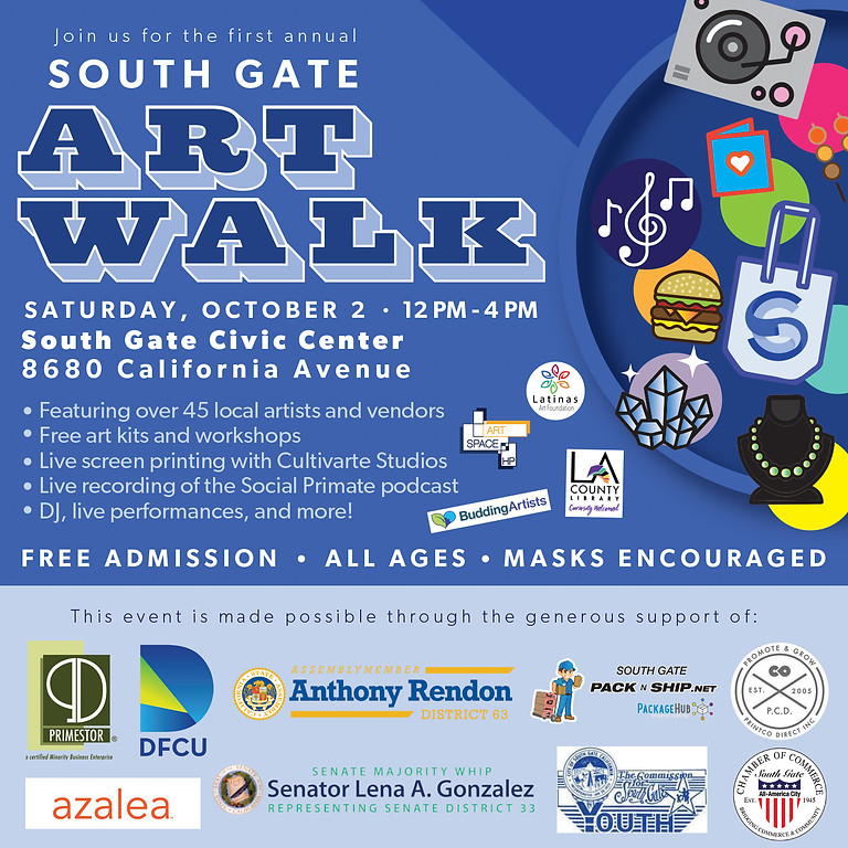 South Gate Art Walk