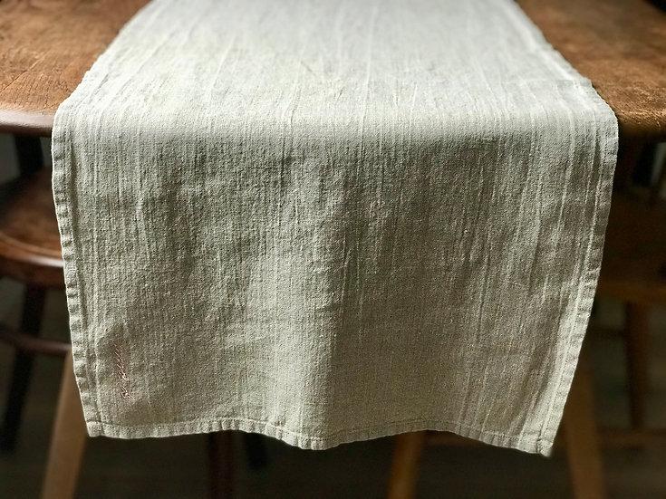 Table runner Natural 100% Linen