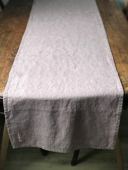 Table runner Ashes of Roses 100% Linen