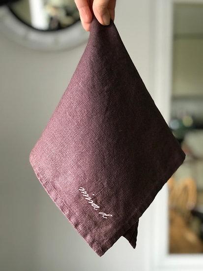 Napkin Mauve 100% Linen