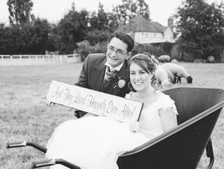 Jeff and Kim's farm-themed wedding