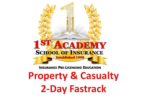 PROPERTY & CASUALTY 3-Day Fast Track