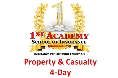 PROPERTY & CASUALTY - 4 Day