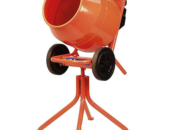 CEMENT MIXER & STAND (ELECTRIC)