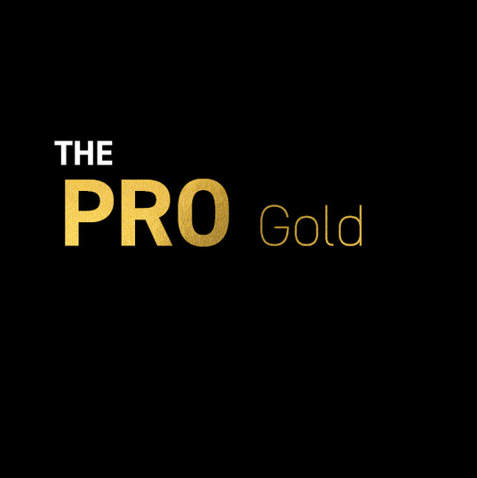 "Sportspark Card Design ""The PRO Gold"""