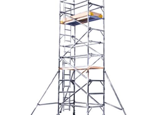 5.2M PLATFORM HEIGHT ALLOY TOWER (17') 2 widths