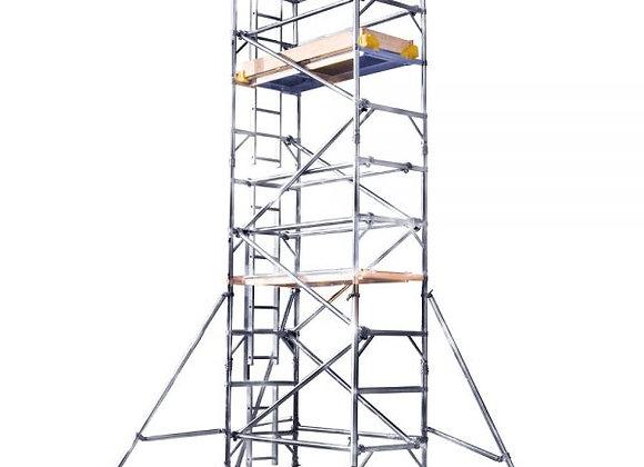 7.2M PLATFORM HEIGHT ALLOY TOWER (24') 2 widths
