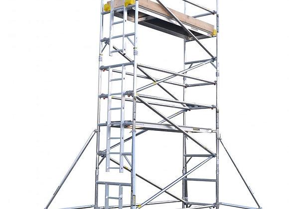 2.2M PLATFORM HEIGHT ALLOY TOWER (7') 2 widths