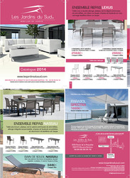 Jardins du Sud 2014 Catalogue