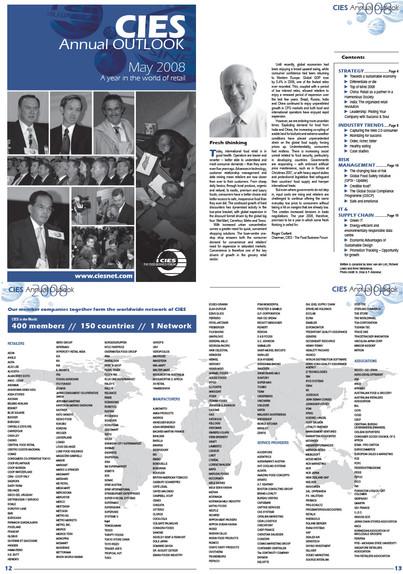 CIES Annual Outlook 2008