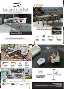 Jardins du Sud 2016 Catalogue