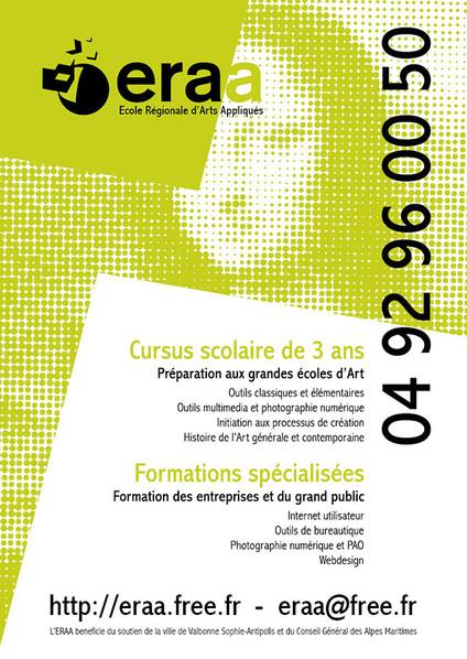 Ecole Regionale d'Arts Appliqués 2015