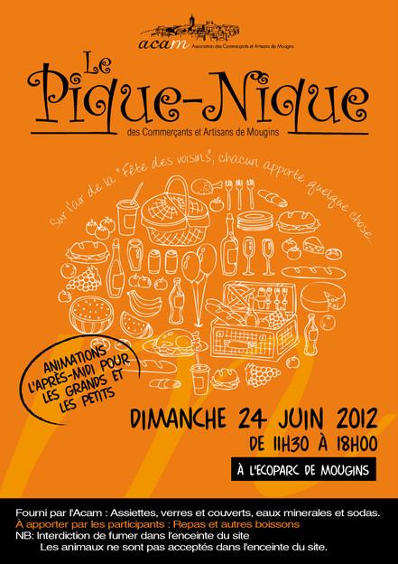 ACAM 2012 Pique-nique
