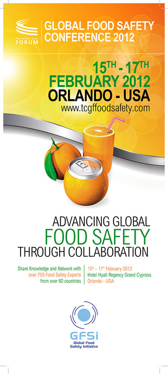 GFSI 2012 Global Food Safety Conference
