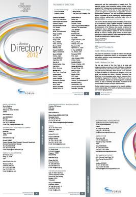 TCGF 2012 Members Directory